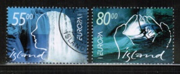 CEPT 2001 IS MI 981-82 USED ICELAND - Europa-CEPT
