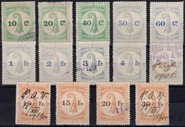 741 - BASEL - Fiskalmarken Stempelmarken - Fiscaux