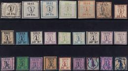 738 - BASEL - Die Ersten Polizei Fiskalmarken - Fiscaux