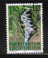 CEPT 2001 LI MI 1255 USED LICHTENSTEIN - Europa-CEPT