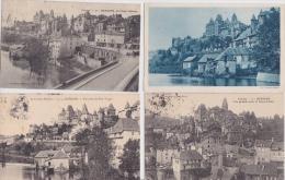 16 / 1 / 222  -    LOT  DE  12  CPA  D´ UZECHES    ( 19 )  Toutes Scanées - Postcards