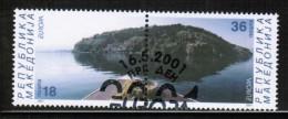 CEPT 2001 MK MI 228-29 USED MACEDONIA - Europa-CEPT