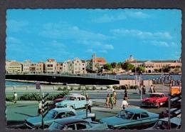 ANTILLES PONTOON BRIDGE WITH VIEW ON HANDELSKADE WILLEMSTAD CURAÇAO NETH  FG NV SEE 2 SCANS - Curaçao