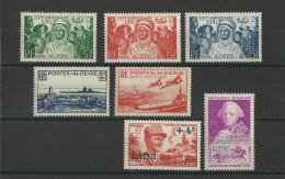 ALGERIE - ANNEE 1949 COMPLETE - YVERT N° 272/278 **  - COTE = 40.8 EUROS - Algérie (1924-1962)