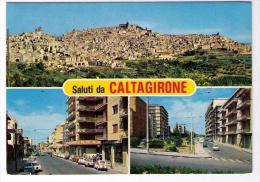 SALUTI DA CALTAGIRONE  (CT) PIU FOTOGRAMMI - Catania