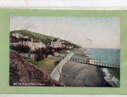 """""POSTCARD VIEW FROM SANDGATE CASTLE,SANDGATE,FOLKESTONE,KENT,DATED 1909"""" - Folkestone"