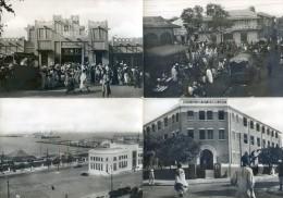 Lot De 4 Cartes - Dakar - Institution Jeanne Arc, Marché Sandaga, Port, Autour Du Marché - Côte-d'Ivoire