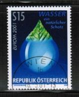 CEPT 2001 AT MI 2344 USED AUSTRIA - Europa-CEPT