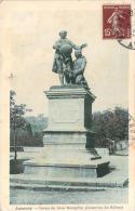 07 - Annonay - Statues Des Frères Montgolfier, Inventeurs Des Ballons (tampon G. Pleynet) - Annonay