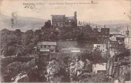 07 - Annonay - Ancien Château Seigneurial Et Rochers De St-Denis - Annonay
