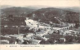07 - Aubenas - Vue Générale Du Pont D'Aubenas - Aubenas