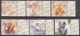 AUSTRALIA, 1999 GREETINGS 6 MNH - Mint Stamps