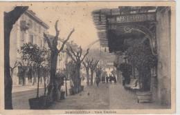 Domodossola-viale Stazione E Bar Savoia      -veduta 1900 - Verbania