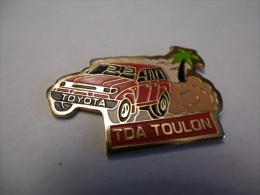 PINS AUTOMOBILE TOYOTA TDA TOULON 83 VAR - Toyota
