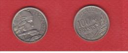 Gad # 897 --   100 Francs 1958 B    --  état TTB+ - N. 100 Franchi
