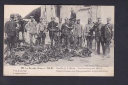 Vente Immediate Guerre 1914-18 Neufmontiers 77 Soldats Francais Avec Leurs Prisonniers Devant Leur Butin Imp. Baudiniere - France