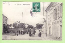 AVON : Rue Gambetta, Hotel Des Chasses  2 Scans. Edition ELD - Avon