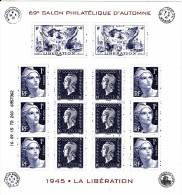 Salon Philatelique D´automne 2015 Bloc ** - Ongebruikt