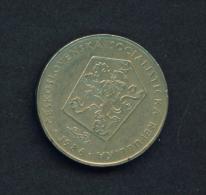 CZECHOSLOVAKIA  -  1986  2k  Circulated Coin - Czechoslovakia