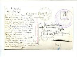 CP - Cachet De Franchise Centre D'hébergement De Permissionnaires De St Pierre De Chartreuse - Marcophilie (Lettres)