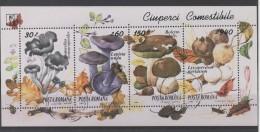 ROUMANIE  Série Complète   - Champignons -  (ref 3116 )voir 2 Scans - 1948-.... Repúblicas