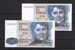 EDIFIL E2a.   500 PTAS 23 DE OCTUBRE DE 1979 - [ 3] 1936-1975 : Regency Of Franco