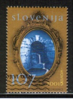 CEPT 2001 SI MI 356 USED SLOVENIA - Europa-CEPT