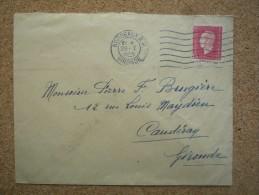 Enveloppe Affranchie N°691 1,50f Marianne De Dulac  Seul Sur Lettre Oblitération Mécanique Bordeaux RP Gironde - Marcophilie (Lettres)