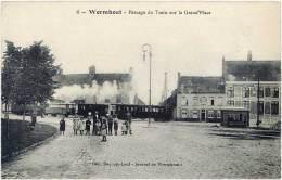 Wormhout – Passage Du Train Sur La Grand'Place - Wormhout