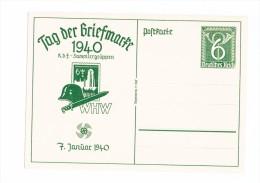 Deutsches Reich, Ganzsache  Tag Der Briefmarke 1940 - Deutschland