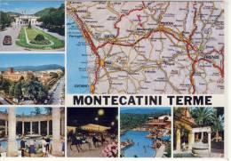 MONTECATINI TERME - Dalla Carta Automobilistica, - Italie