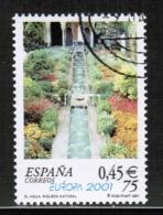 CEPT 2001 ES MI 3629 USED SPAIN - Europa-CEPT