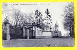 * La Hestre (Manage - Hainaut - La Wallonie) * (SBP, Nr 2) Chaussée De Mariemont Et Entrée Chateau Warocqué, TOP - Manage