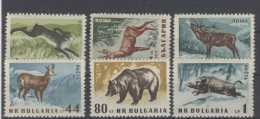 Bulgarien Michel No. 1058 - 1063 ** postfrisch