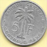 5 Francs Alu 1956  Clas D 196 - Congo (Belge) & Ruanda-Urundi