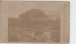 08 - CHATEL CHEHERY / FERME DES GRANGES - CARTE PHOTO ALLEMANDE 1916 - Other Municipalities