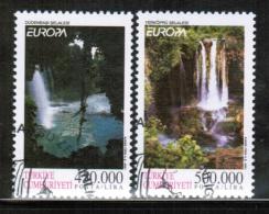 CEPT 2001 TR MI 3260-61 USED TURKEY - 2001