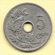 5 Centimes 1902 FL Qualité++  Clas D 196 - 1865-1909: Leopold II