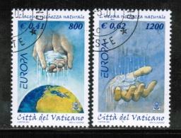CEPT 2001 VA MI 1372-73 USED VATICAN - Europa-CEPT