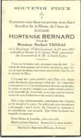 Meix Devant Virton Hortence Bernard Houdriny  Villers La Loue 1861 Musson 1940 - Meix-devant-Virton