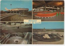 Roissy En France : Aéroport Charles De Gaulle - Multivues N°270 Aeroport De Paris - Aerodrome