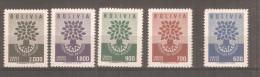 Serie Nº A-189/93 Bolivia. - Bolivia