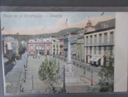 TENERIFE  Plaza De La Constitucion Dos 1900 - Tenerife