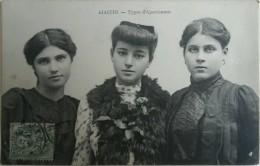 CPA - AJACCIO. Types D'ajacciennes. Voyagé Timbre 1907 - Ajaccio