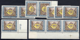 DEUTSCHES REICH 1943 Stamp Day  MNH / ** X 11.  Michel 828 - Unused Stamps
