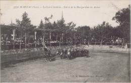 32 - Marciac (Gers) - La Course Landaise - Entrée De La Musique Dans Les Arènes - Altri Comuni