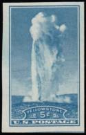 UNITED STATES - Scott #760 National Park; Old Faithful Yellowstone Wyoming (*) / Mint NG Imperf. Stamp - Etats-Unis