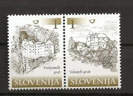 SLOVENIA 2000,SLOWENIEN,MI NO  298-9,CASTEL,MNH - Slowenien