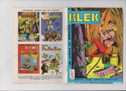 Les Albums Du Grand Blek N° 59, 1965, Rare. - Blek