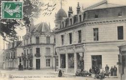Chateau-du-Loir (Sarthe) - Grand Hôtel - Edition Nouvelles Galeries - Chateau Du Loir
